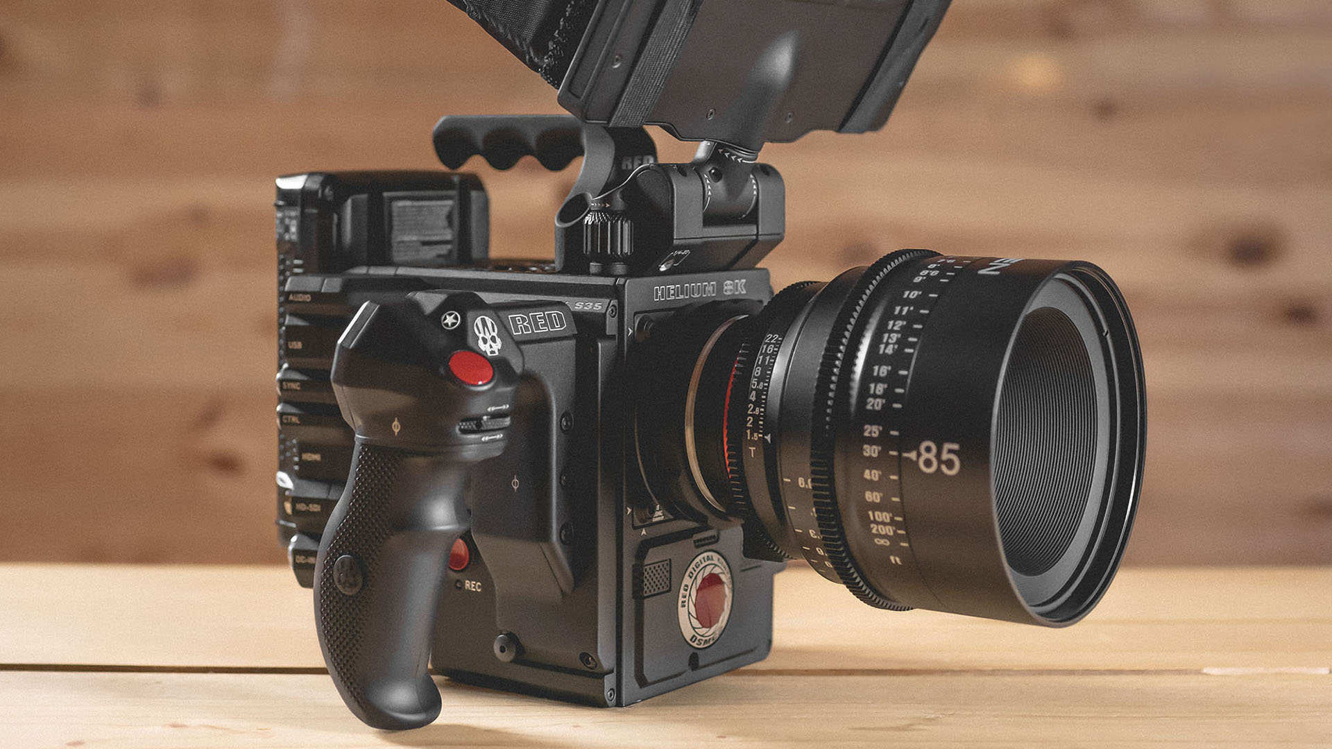 RED Helium 8K with XEEN Lens