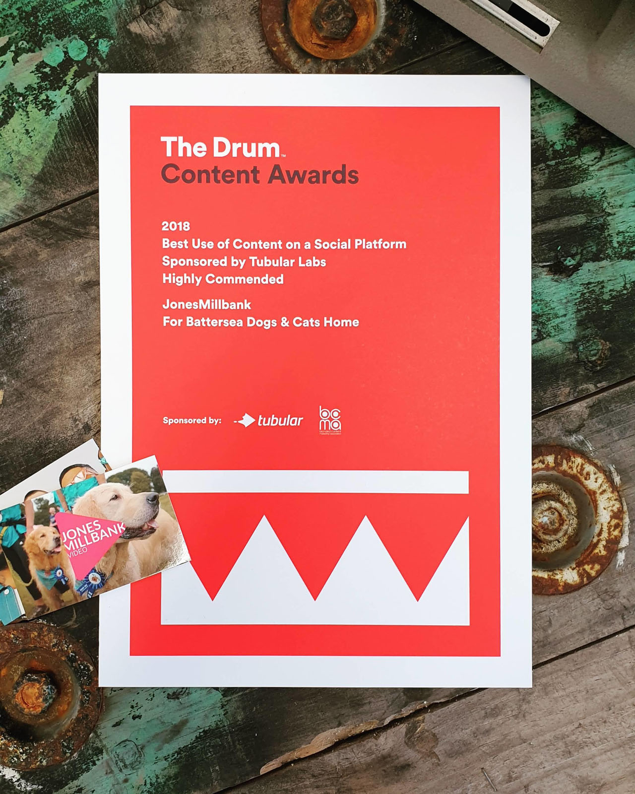 The Drum Content Awards 2018 - Best Use of Content on a Social Platform - Highly Commended